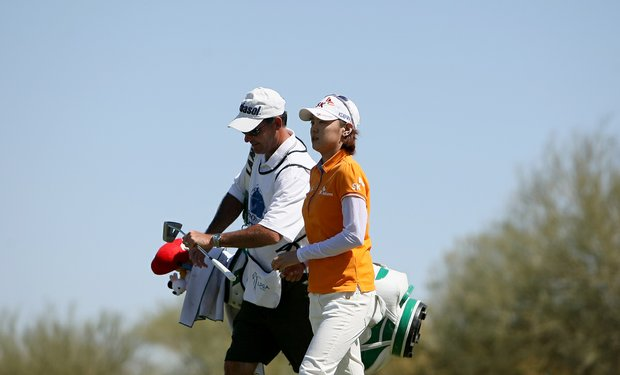 Na Yeon Choi posted a 67 during the first round of the RR Donnelley Founders Cup.