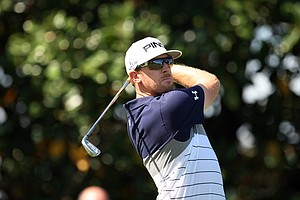 Hunter Mahan during the first round of the Arnold Palmer Invitational. He posted a 72.
