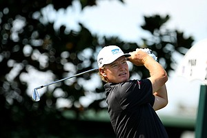 Ernie Els during the first round of the Arnold Palmer Invitational.