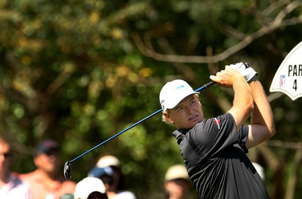 Ernie Els during the first round of the Arnold Palmer Invitational at Bay Hill Club and Lodge.