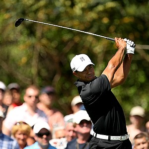 Tiger Woods during the first round of the Arnold Palmer Invitational he posted a 69.
