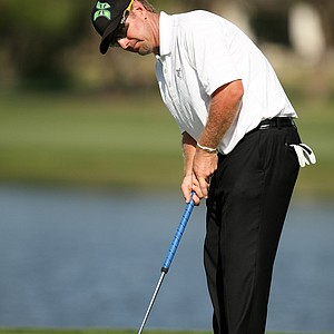 David Duval at No. 6 during the first round of the Arnold Palmer Invitational.