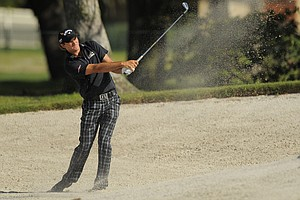 Sam Saunders during the second round of the Arnold Palmer Invitational.