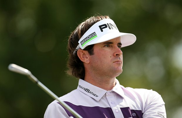 Bubba Watson at No. 7 during the third round of the Arnold Palmer Invitational at Bay Hill Club and Lodge.