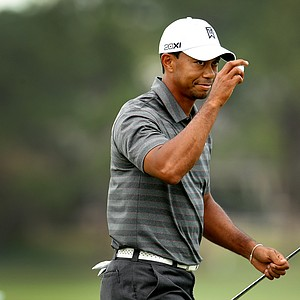 Tiger Woods during the third round of the Arnold Palmer Invitational at Bay Hill Club and Lodge.