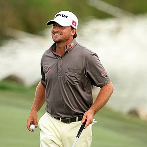 Graeme McDowell after the third round of the Arnold Palmer Invitational at Bay Hill Club and Lodge.