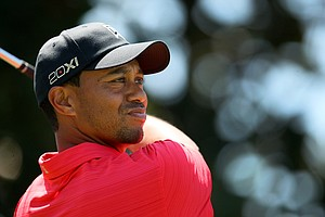 Tiger Woods during the the final round of the Arnold Palmer Invitational at Bay Hill Club and Lodge.