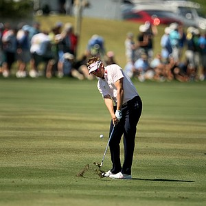 Ian Poulter at No. 6 during the the final round of the Arnold Palmer Invitational.