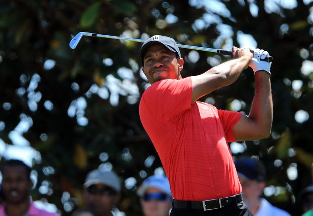 Tiger Woods on Sunday at the Arnold Palmer Invitational.
