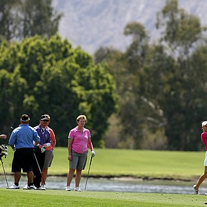 Ryann O'Toole during the pro-am on Wednesday at the Kraft Nabisco Championship.