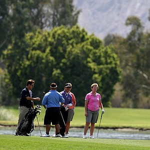 Ryann O'Toole at No. 18 during the pro-am on Wednesday.
