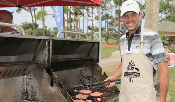 Charl Schwartzel's Masters Champions Dinner will be a traditional South African 'braai' - a barbecue - but he won't be behind the grill at Augusta.