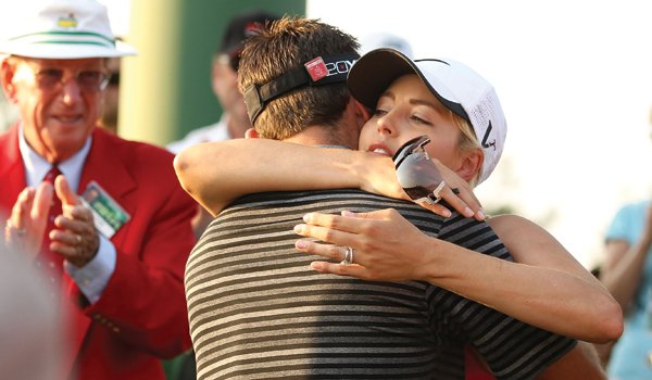 Like her husband, Rosalind Schwartzel felt a positive vibe that Sunday, thinking, 'This is his day.' After his triumph proved them right, the tears flowed.