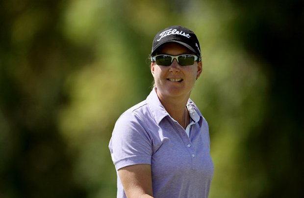 Lindsey Wright took the early lead on Thursday at the Kraft Nabisco Championship. She posted a 67.