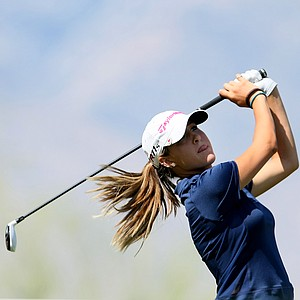 Amateur Jaye Marie Green on Thursday at the Kraft Nabisco Championship.