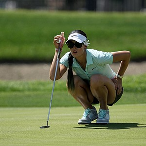 Michelle Wie at No. 6 on Thursday at the Kraft Nabisco Championship.