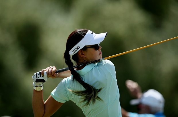 Michelle Wie at No. 7 on Thursday at the Kraft Nabisco Championship.