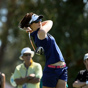 Sandra Gal at No. 3 on Friday at the Kraft Nabisco Championship.