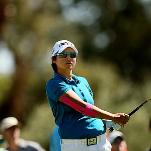 Yani Tseng at No. 3 on Friday at the Kraft Nabisco Championship.