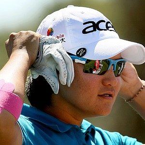 Yani Tseng during her round on Friday at the Kraft Nabisco Championship. Tseng posted a second round 68.