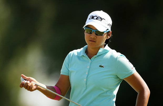 Yani Tseng during her round on Saturday at the Kraft Nabisco Championship.