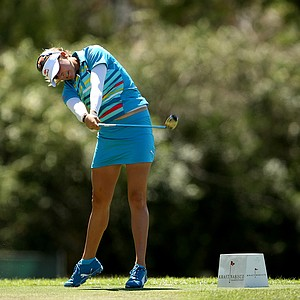 Lexi Thompson at No. 6 on the final round of the Kraft Nabisco Championship.