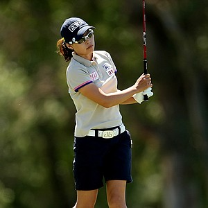 Sun Young Yoo during the final round of the Kraft Nabisco Championship.