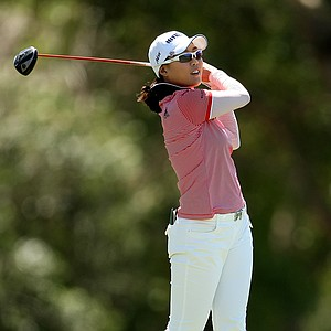 Hee Kyung Seo at No. 6 on the final round of the Kraft Nabisco Championship.