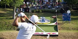2012 Masters: Rickie & Lexi play skee golf