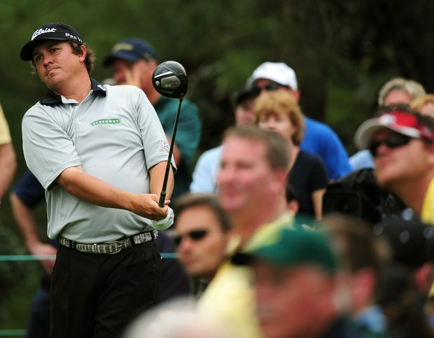 Jason Dufner fired a 3-under 69 to sit in a tie for fourth after the first round of the Masters at Augusta National Golf Club.