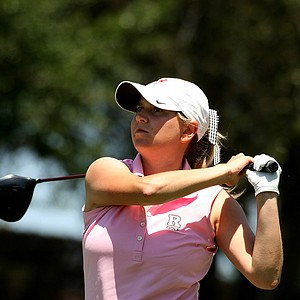 Karen Cash of Rutgers during the Big East Women's Championship at Reunion Resort.