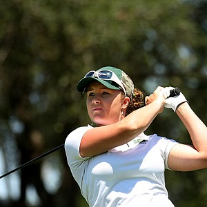 Anna Hancock of University of South Florida during the Big East Women's Championship at Reunion Resort.