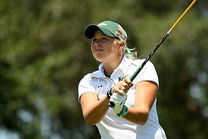 Kelli Pry of University of South Florida during the Big East Women's Championship at Reunion Resort.