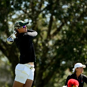 Chrsitina Miller of University of South Florida during the final round of the Big East Women's Championship at Reunion Resort.