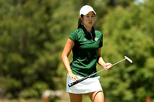 University of South Florida's Shena Yang during the final round of the Big East Women's Championship at Reunion Resort.