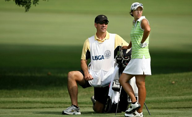 Many college coaches caddie for their players at national championships (Vanderbilt coach Greg Allen was on then-junior Marina Alex's bag for the 2011 U.S. Women's Amateur). A new rule now permits universities to reimburse players for their expenses at those championships.