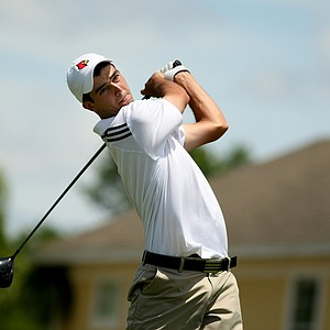 Chris Buiso of Louisivlle during the Big East Men's Championship at Reunion Resort.