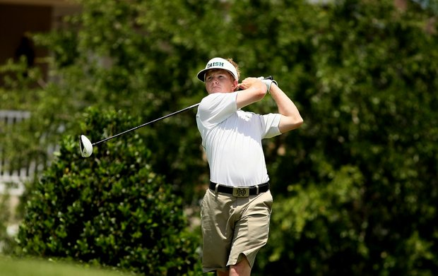 Notre Dame's Paul McNamara at No. 8 during the Big East Men's Championship at Reunion Resort.