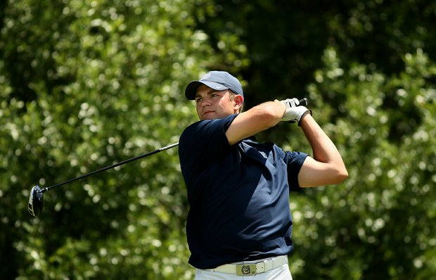 Matthew Dziubina of Connecticut during the Big East Men's Championship at Reunion Resort.