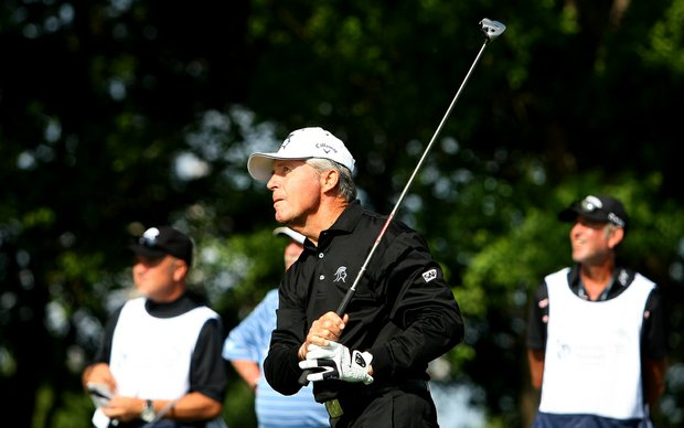 Gary Player during the Champions Tour Event - Liberty Mutual Insturance Legends of Golf at Westin Savannah Harbor Golf Resort and Spa.