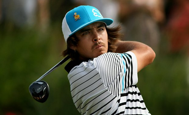 Rickie Fowler during Round 3 of The Players Championship.