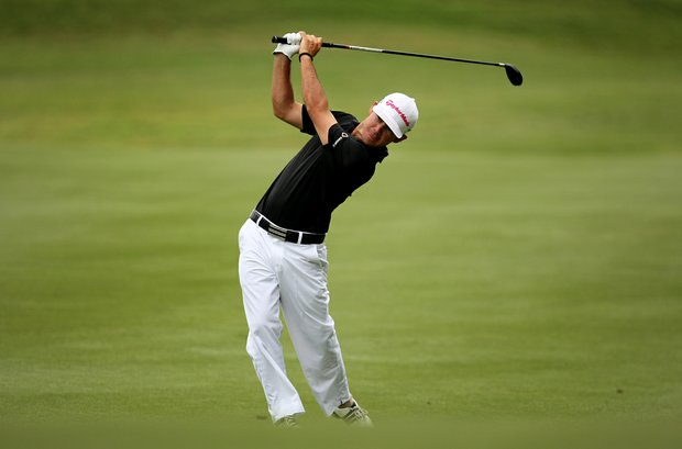 Brian Harman during the final round at The Players Championship at TPC Sawgrass.