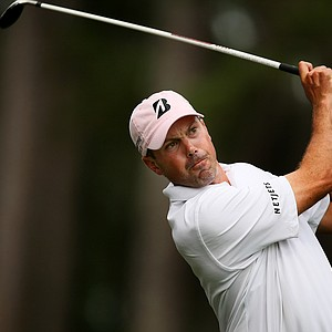 Matt Kuchar hits his tee shot at No. 6 during the final round at The Players Championship at TPC Sawgrass.