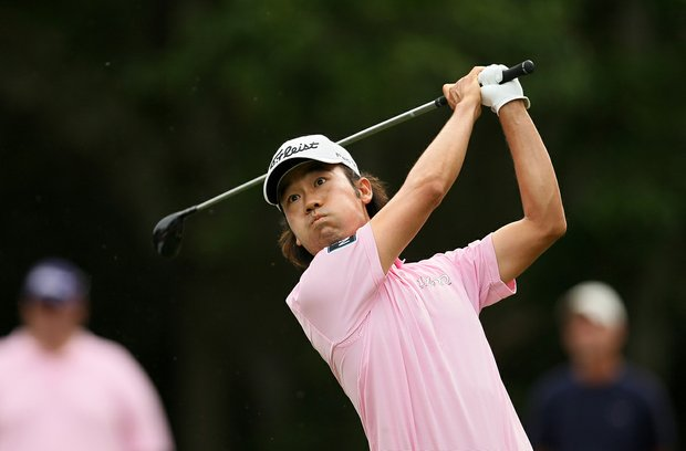 Kevin Na during the final round at The Players Championship at TPC Sawgrass.