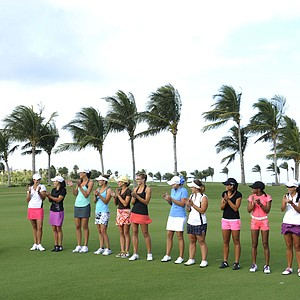 "The cast of Golf Channel's ""Big Break Atlantis."""