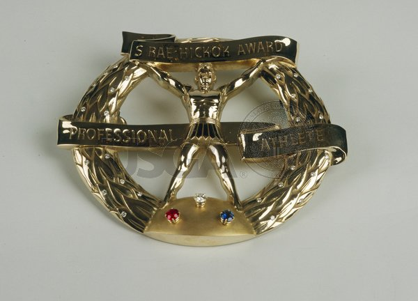 Replica of Ben Hogan's 1953 Hickok Belt award