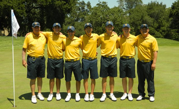 California won its first ever Regional title on Saturday, clearing San Diego State by six shots at the West Regional at the par-70 Stanford Golf Course in Palo Alto, Calif.