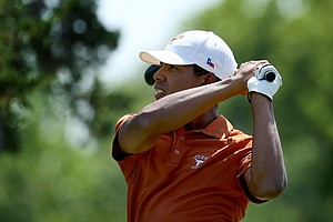 Julio Vegas of Texas during the final round of the Southwest Regional Championship.