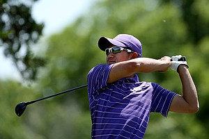 Washington's Cheng-Tsung Pan during the final round of the Southwest Regional Championship.
