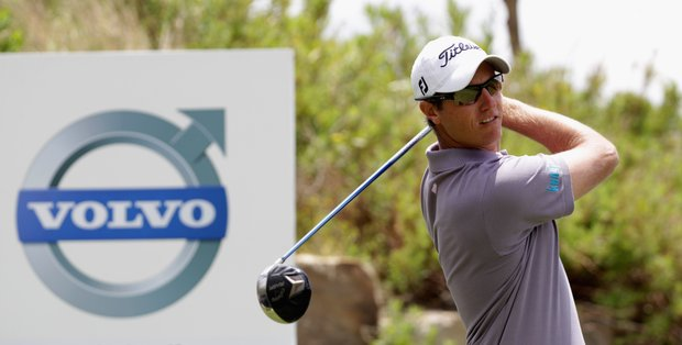 Nicolas Colsaerts during the championship match at the Volvo World Match Play Championship.
